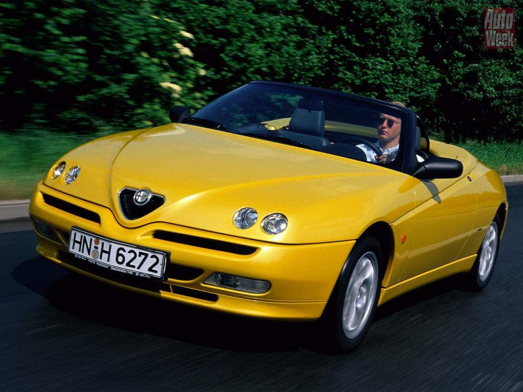 alfa romeo spider 916 specifications description photos. Black Bedroom Furniture Sets. Home Design Ideas