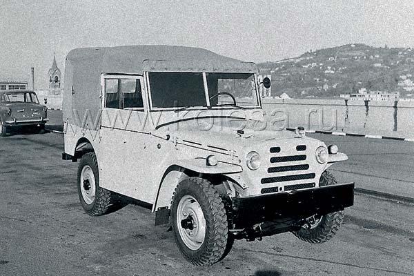 Fiat Campagnola 1101 Specifications Description Photos