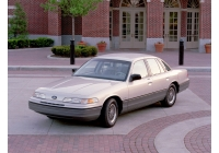Ford Crown Victoria <br>1990