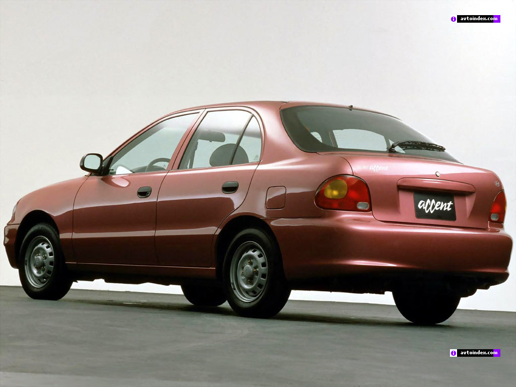 Hyundai Accent X3 Первое поколение Specifications