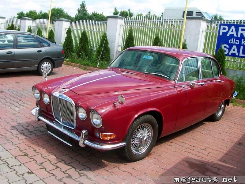 Jaguar 420 1966 - specifications, description, photos.