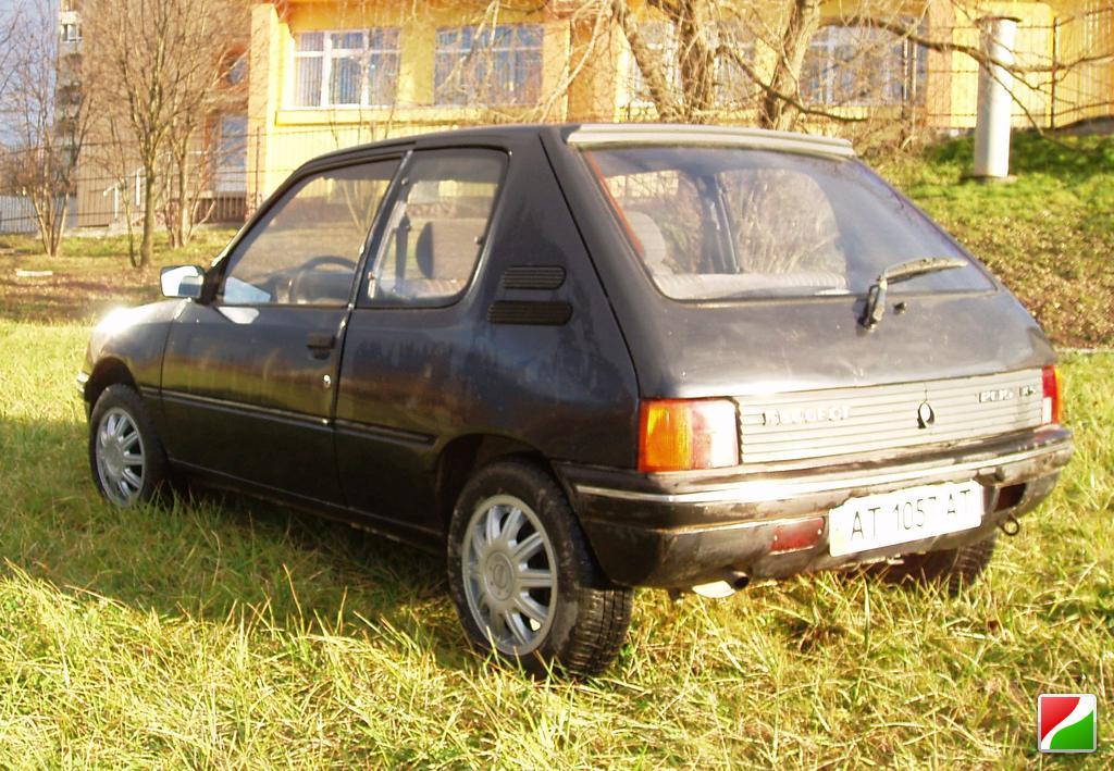 Peugeot 205 20А Specifications Description Photos
