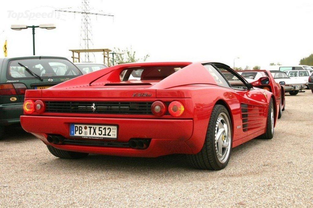 Ferrari F512m Specifications Description Photos
